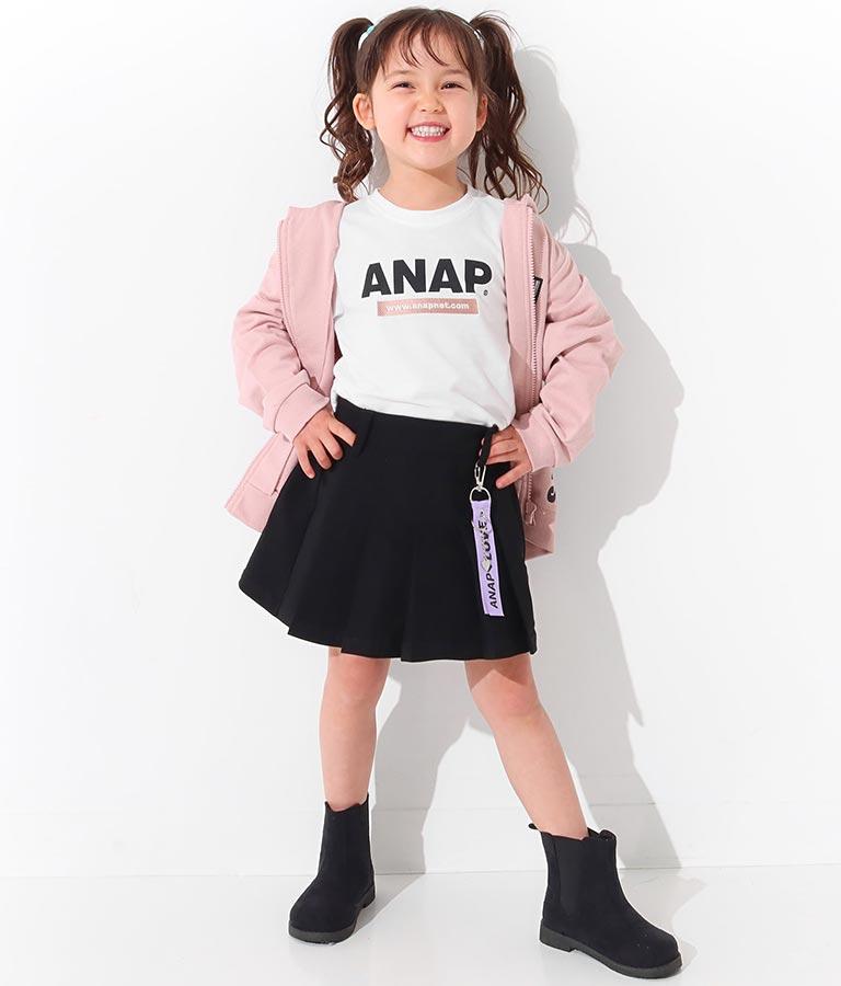 チャーム付プリーツスカパン(ボトムス・パンツ /ショートパンツ・スカート) | ANAP KIDS