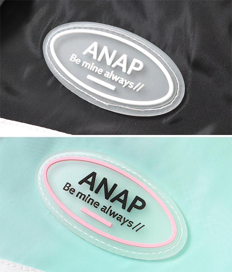 はっ水加工配色ビッグブルゾン(アウター(コート・ジャケット) /ジャケット・ブルゾン) | ANAP KIDS