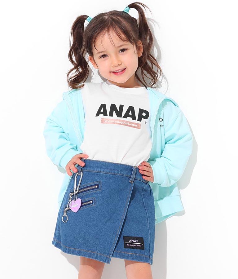 ハートカラビナ付スカパン(ボトムス・パンツ /ショートパンツ・スカート) | ANAP KIDS