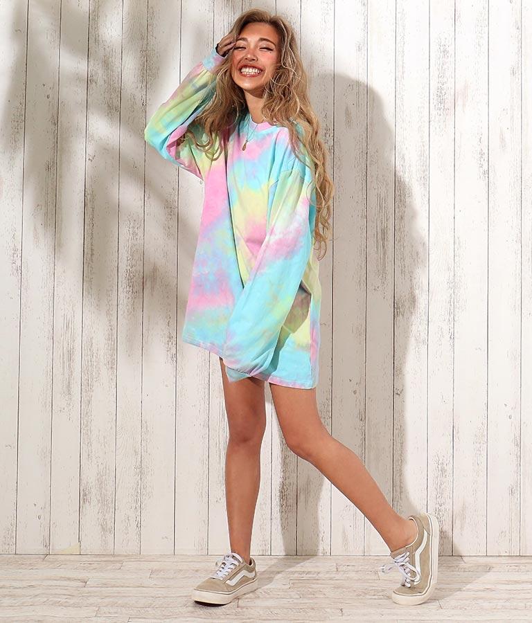 タイダイロングTシャツ | anap mimpi