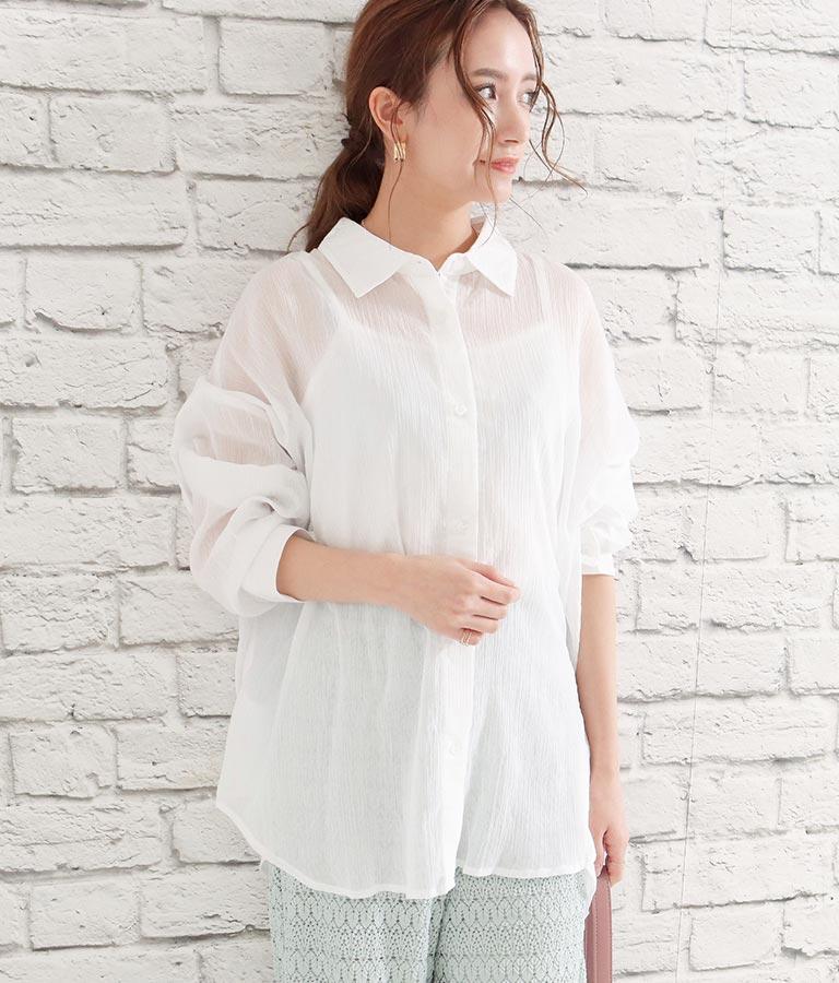 楊柳ラフサイズシャツ | CHILLE