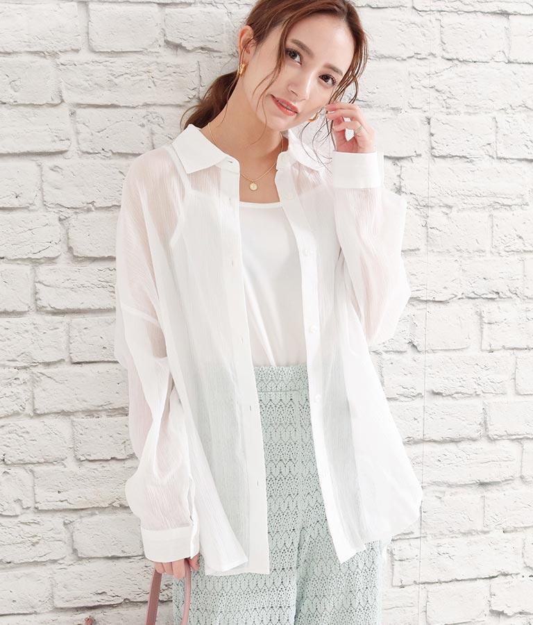 楊柳ラフサイズシャツ