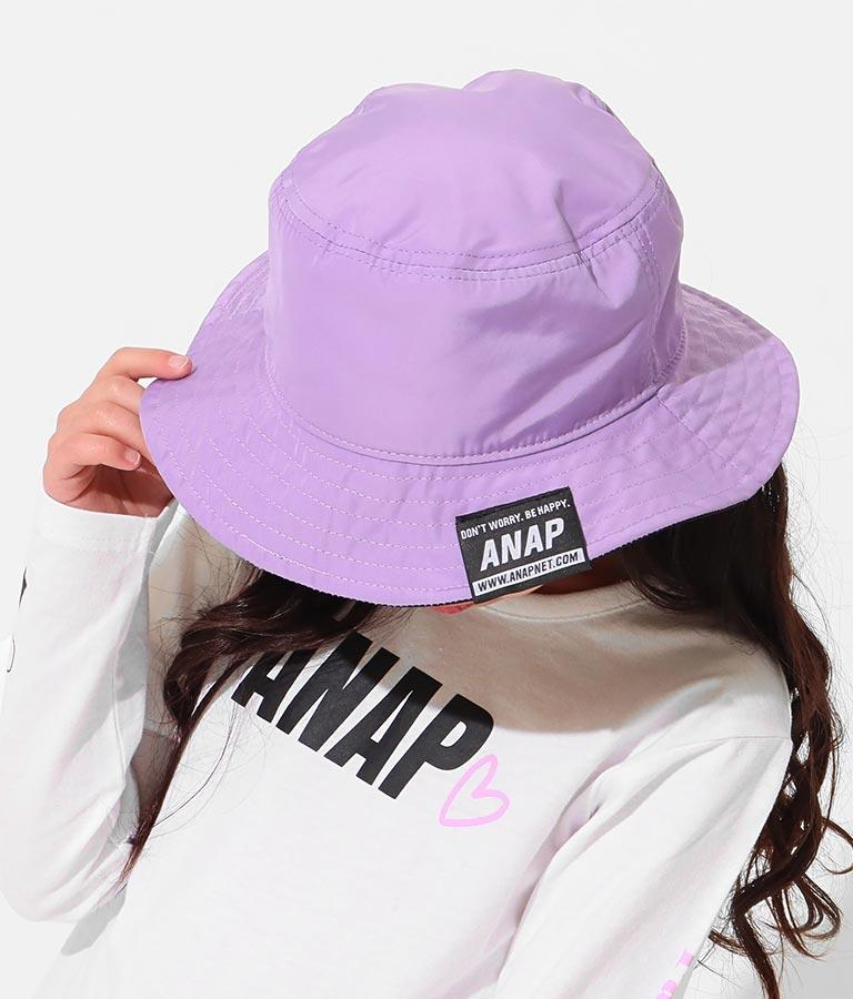 リバーシブルバケットハット(ファッション雑貨/ハット・キャップ・ニット帽 ・キャスケット・ベレー帽) | ANAP KIDS