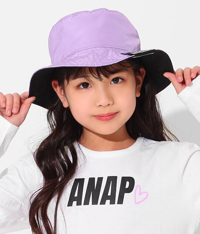 リバーシブルバケットハット(ファッション雑貨/ハット・キャップ・ニット帽 ・キャスケット・ベレー帽)   ANAP KIDS