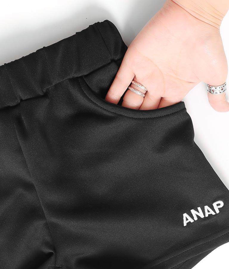 ラインジャージショートパンツ(ボトムス・パンツ /ショートパンツ) | ANAP KIDS