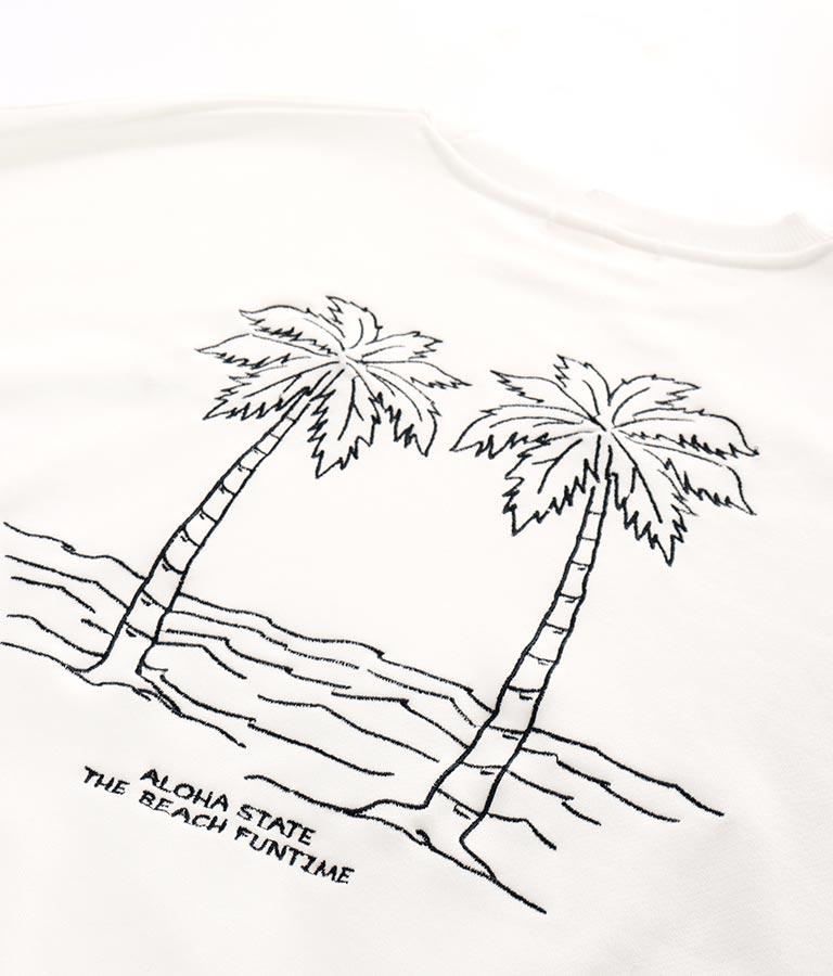パームツリー刺繍スウェットトップス(トップス/スウェット・トレーナー) | anap mimpi