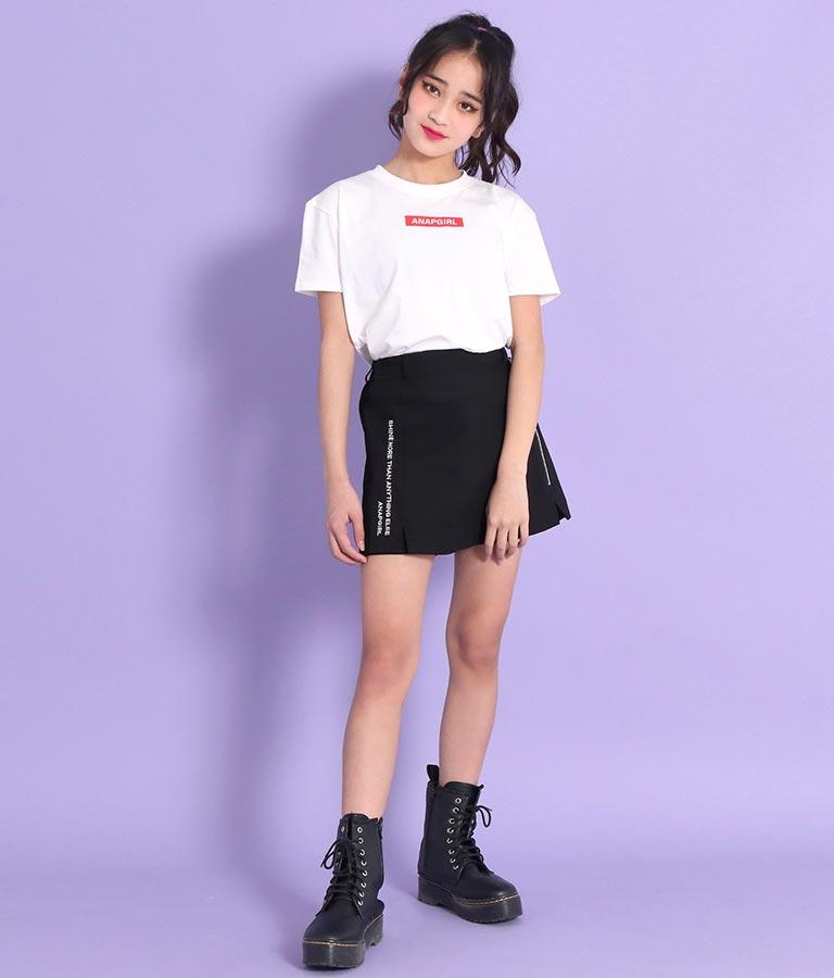 ポケット付&ボックスロゴTシャツ2枚セット | ANAP GiRL