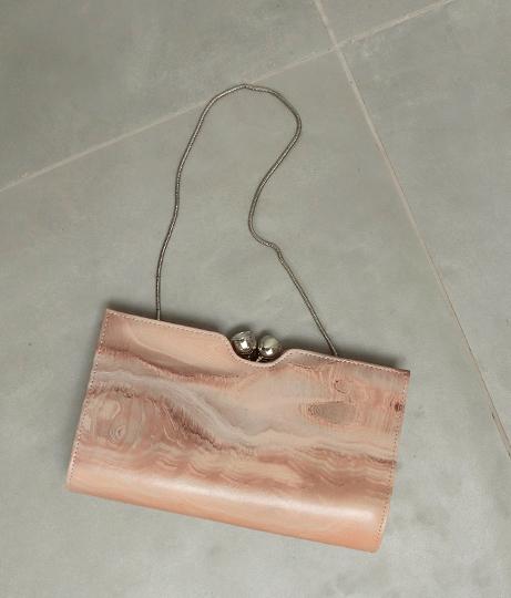 ストーンプリントクラッチバッグ(バッグ・鞄・小物/クラッチバッグ・ショルダーバッグ) | AULI