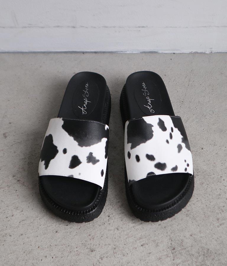 アニマル柄サンダル(シューズ・靴/サンダル) | ANAP