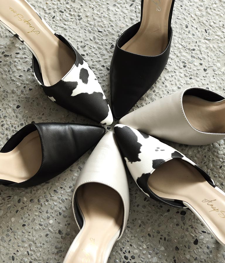 シンプルポインテッドミュール(シューズ・靴/パンプス) | ANAP
