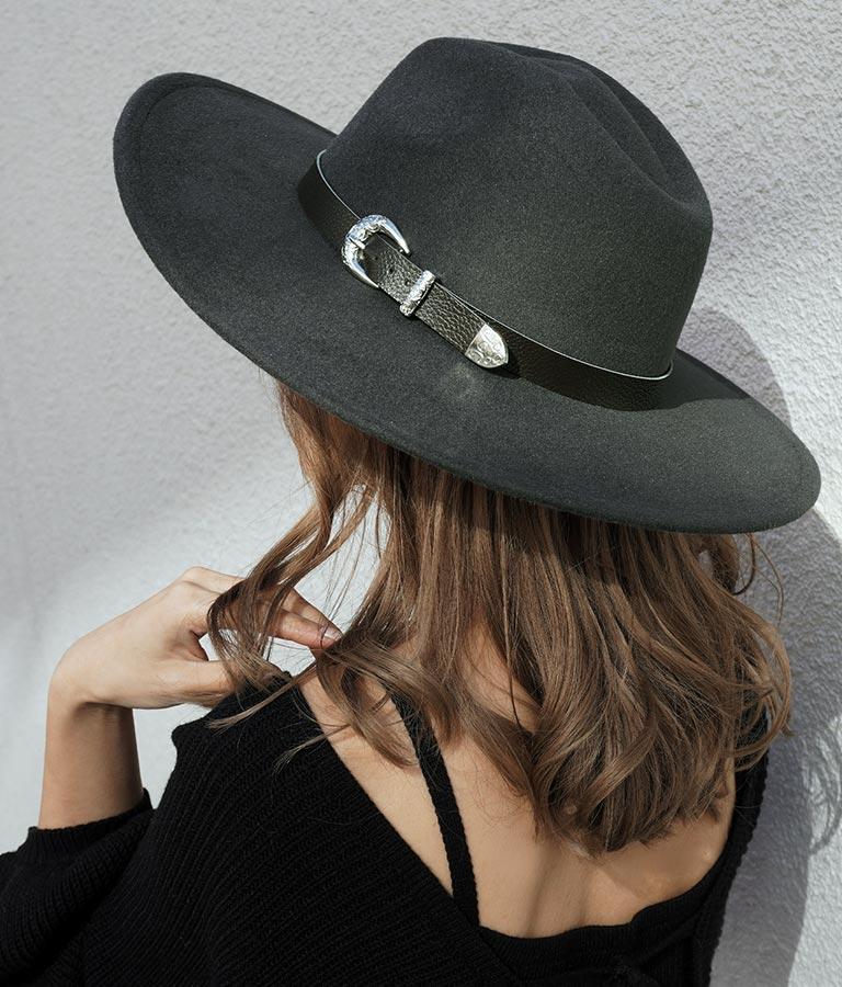 ベルトデザインハット(ファッション雑貨/ハット・キャップ・ニット帽 ・キャスケット・ベレー帽)   ANAP