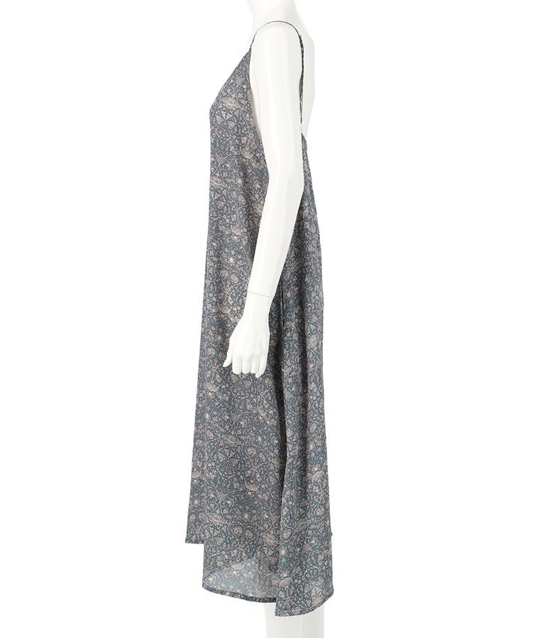 オリエンタルフラワーキャミワンピース(ワンピース・ドレス/ロングワンピ) | anap mimpi