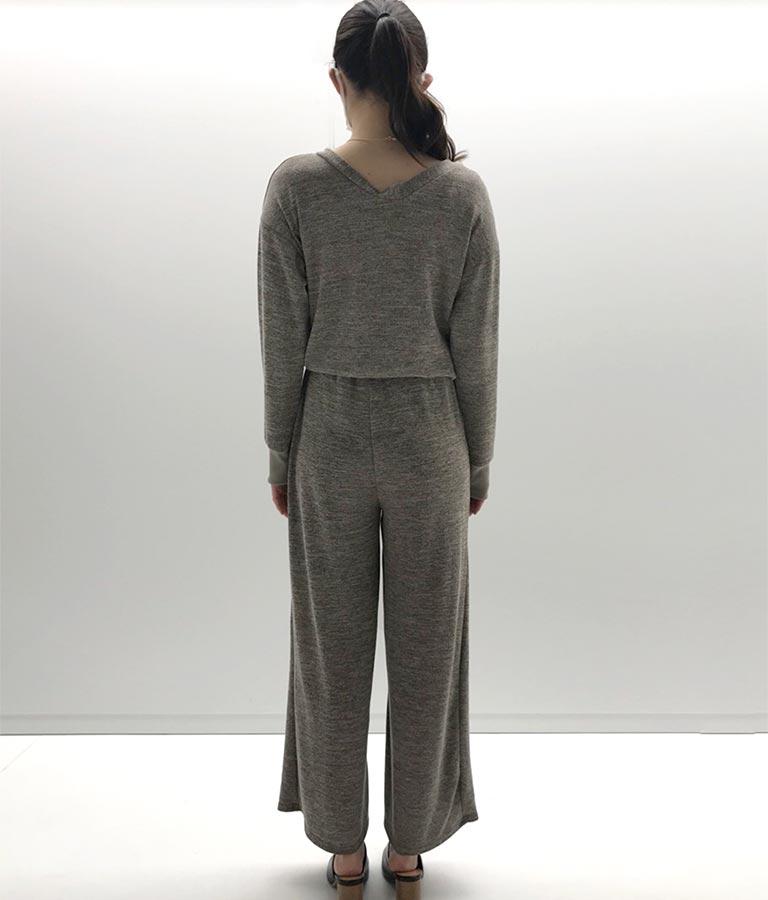 Vネックデザインオールインワン(ワンピース・ドレス/サロペット/オールインワン)   anap mimpi
