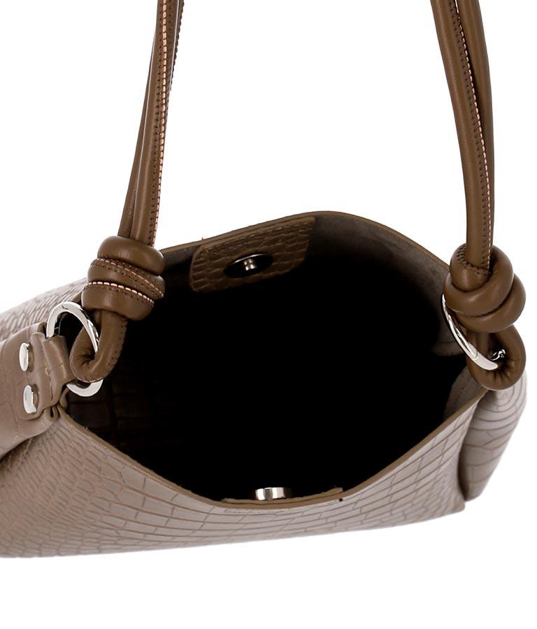 ポーチ付きクロコ風バッグ(バッグ・鞄・小物/ハンドバッグ・ショルダーバッグ) | ANAP