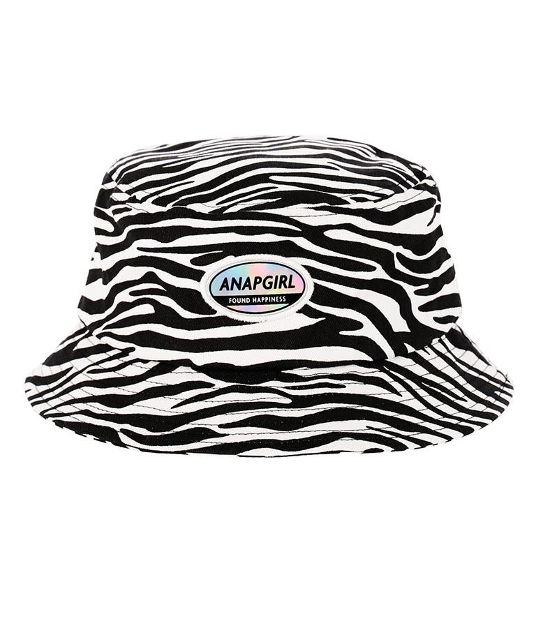 ホログラムワッペン付バケットハット(ファッション雑貨/ハット・キャップ・ニット帽 ・キャスケット・ベレー帽) | ANAP GiRL