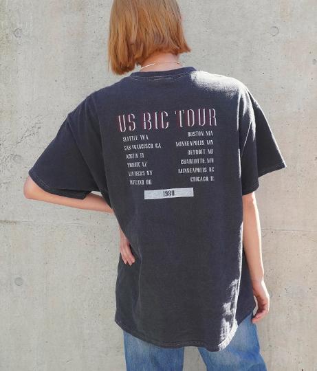 TOUR プリントTシャツ
