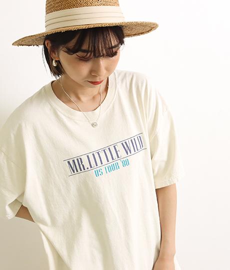 TOUR プリントビッグTシャツ