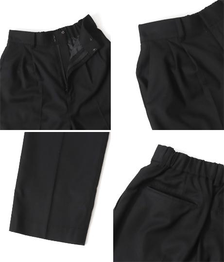 【裾上げ無料サービス対象商品】【低身長向けサイズ】スラックスパンツ(ボトムス・パンツ /ロングパンツ) | AULI