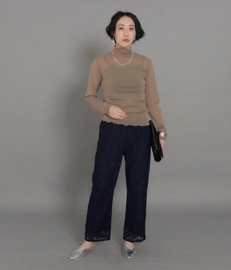 【低身長向けサイズ】シアータートルメロートップス | AULI