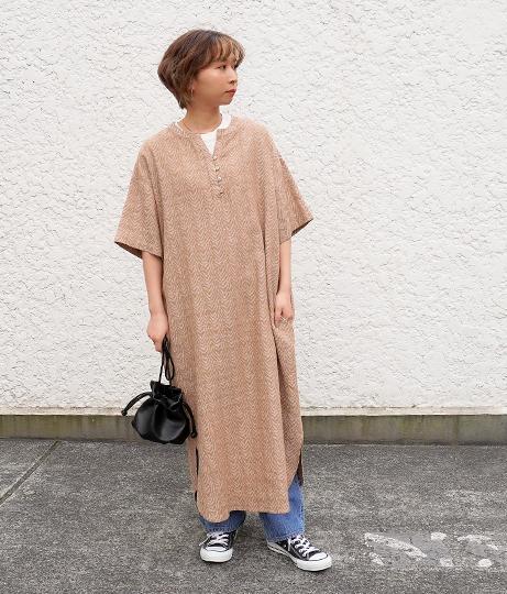 カフタンロングワンピース(ワンピース・ドレス/ロングワンピ) | Factor=