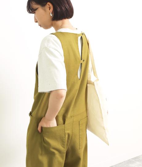 コットンリネンオールインワン(ワンピース・ドレス/サロペット/オールインワン) | Factor=