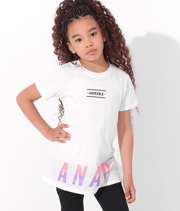 ラメプリントチュニックトップス(トップス/チュニック) | ANAP KIDS