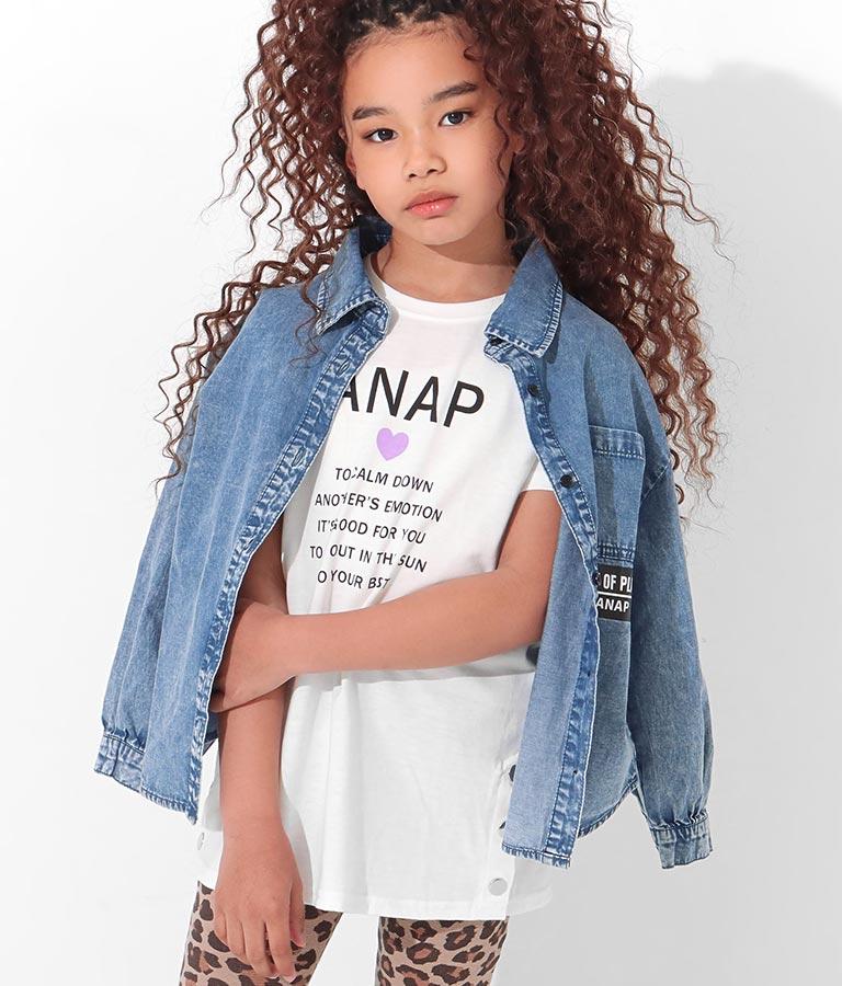サイドスナップチュニック(トップス/チュニック)   ANAP KIDS