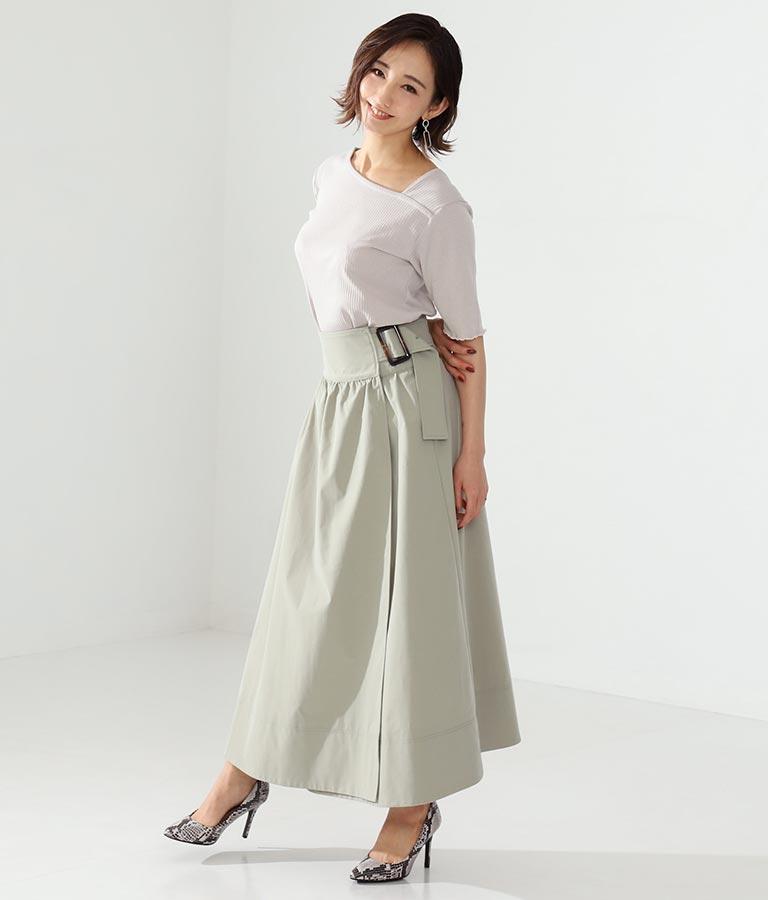 ラップベルトトレンチスカート(ボトムス・パンツ /スカート) | Alluge