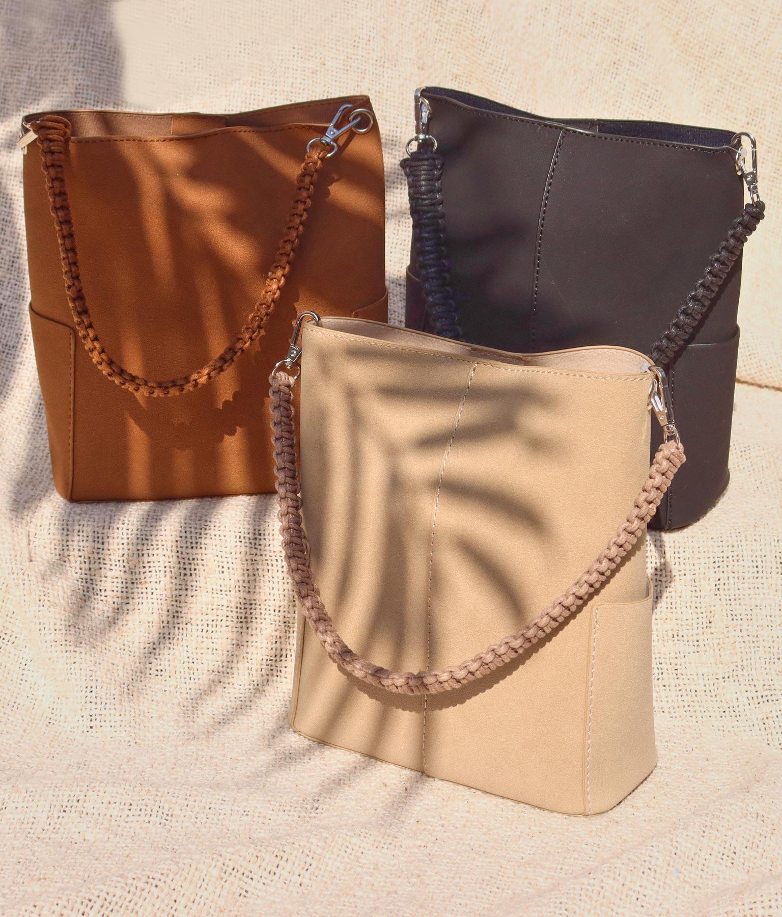 合皮ポーチ付2WAYバッグ(バッグ・鞄・小物/ショルダーバッグ・トートバッグ) | anap mimpi