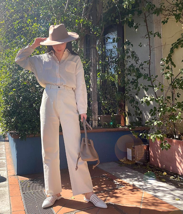 巾着フェイクレザーミニバッグ(バッグ・鞄・小物/ショルダーバッグ) | anap mimpi
