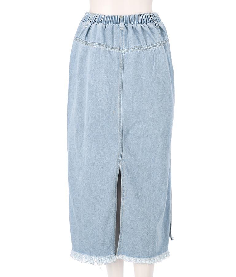 デニムサイドスリットロングスカート(ボトムス・パンツ /スカート) | anap mimpi