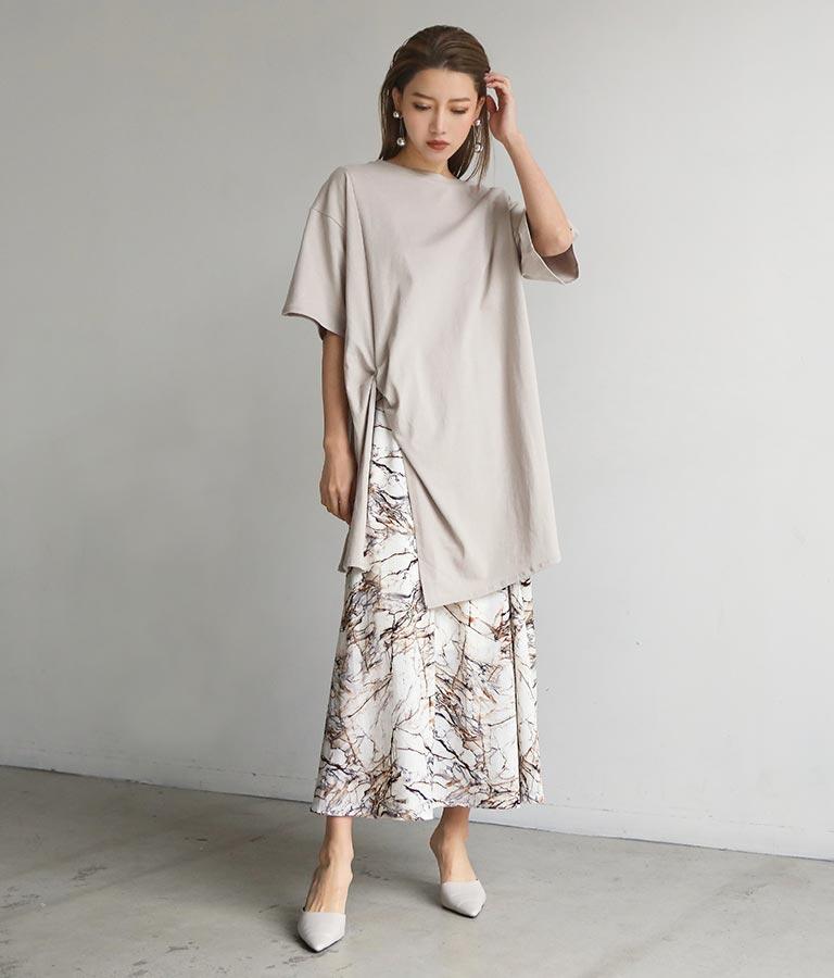 大理石ロングスカート(ボトムス・パンツ /スカート) | ANAP