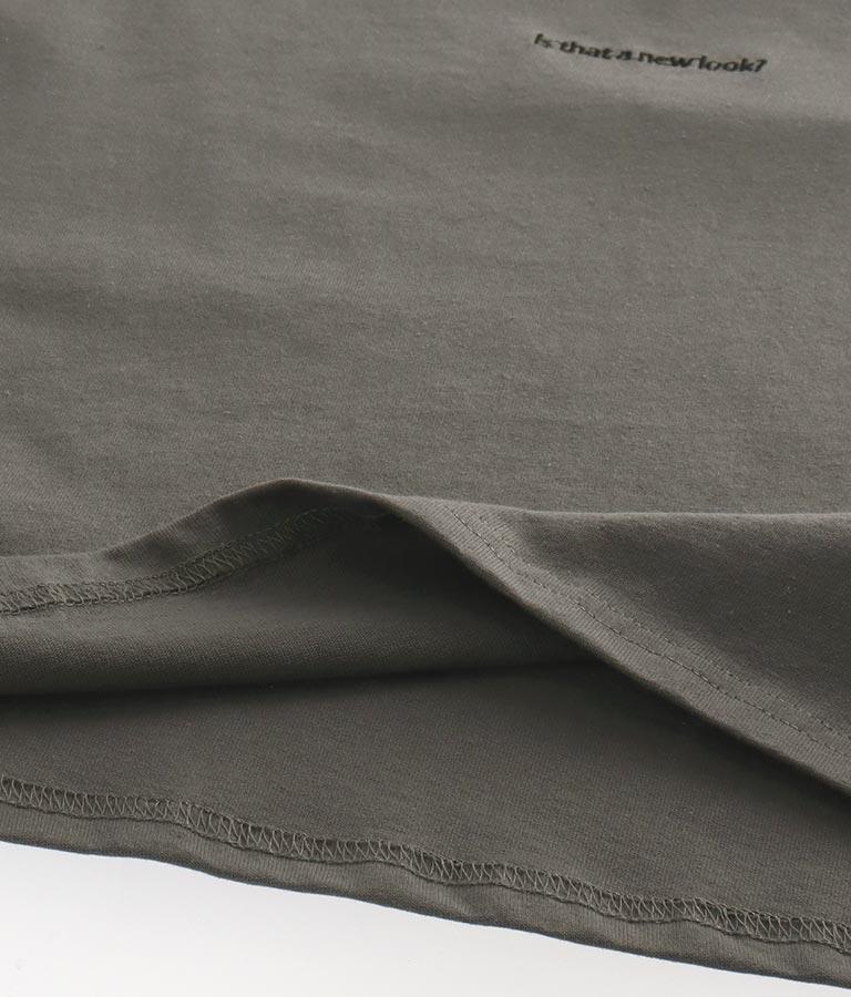 刺繍クロップドロンT | ANAP