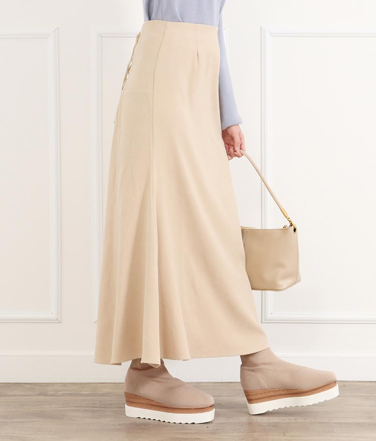 バックレースアップスカート(ボトムス・パンツ /スカート) | CHILLE