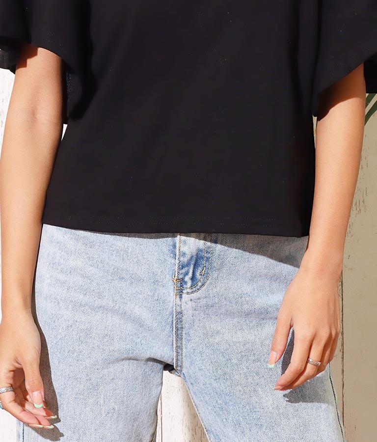 袖フレアTシャツ(トップス/Tシャツ) | anap mimpi