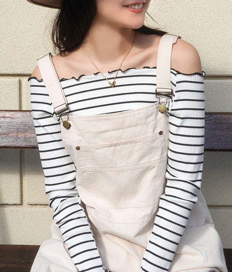 カラーオーバーオール(ワンピース・ドレス/サロペット/オールインワン) | anap mimpi