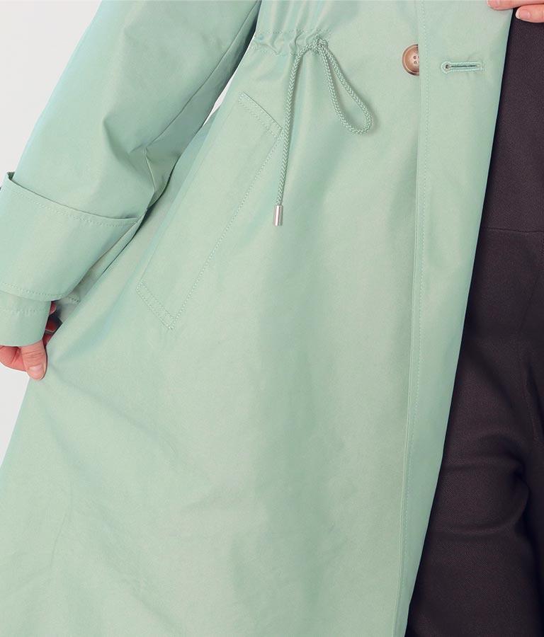 ドロストフードトレンチコート(アウター(コート・ジャケット) /コート (トレンチコート・ロングコート) ) | Alluge