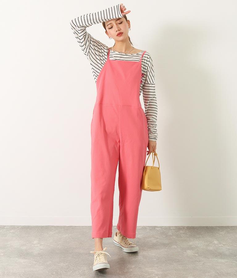 イージーサロペット(ワンピース・ドレス/サロペット/オールインワン) | Alluge