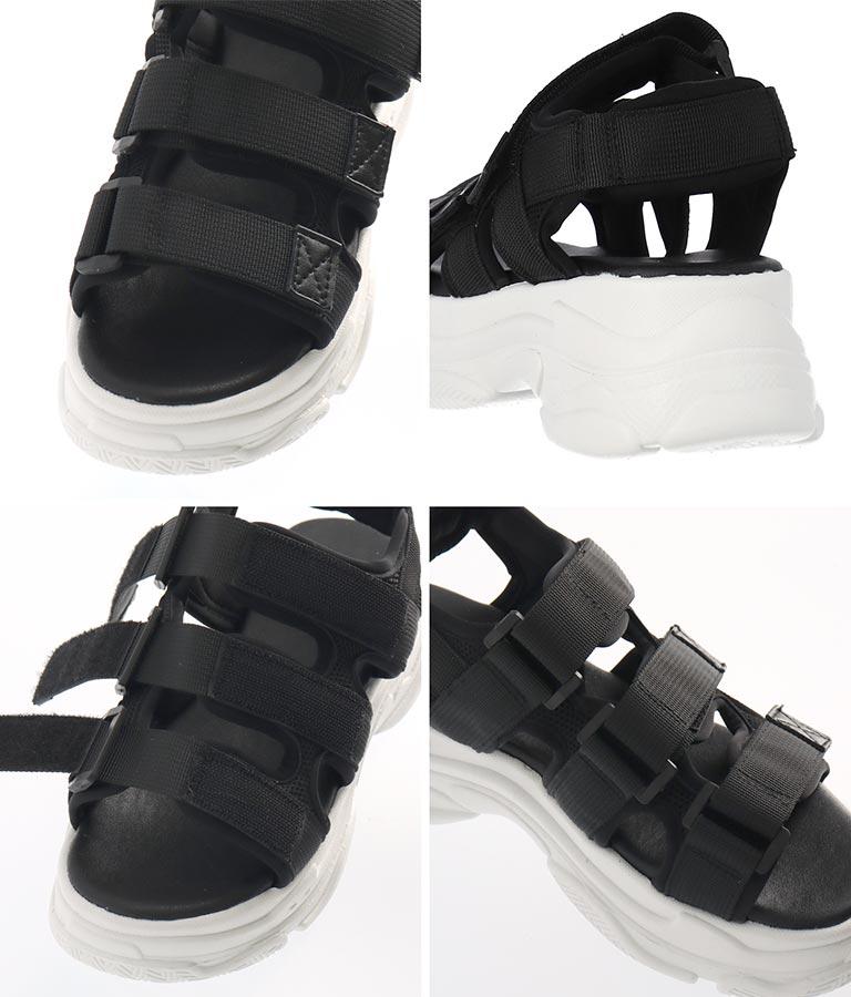 スポーツ厚底サンダル(シューズ・靴/サンダル) | CHILLE