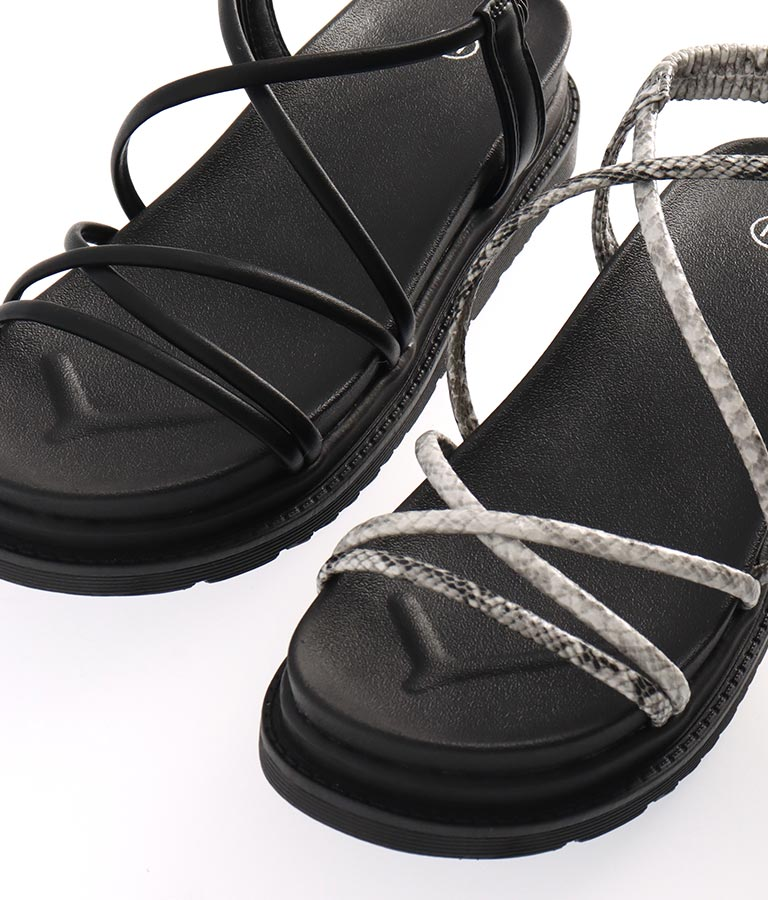 細ストラップフラットソールサンダル(シューズ・靴/サンダル)   CHILLE