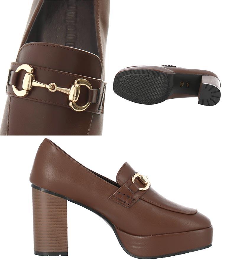 ビット付き厚底シューズ(シューズ・靴/パンプス) | CHILLE