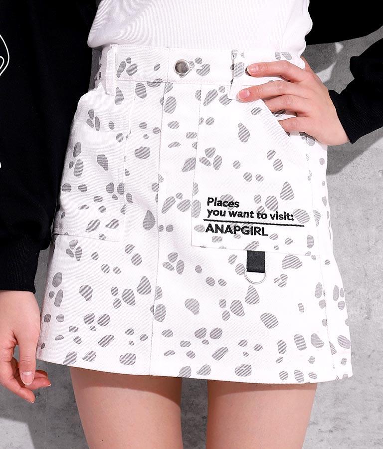 2パターンインパン付スカート