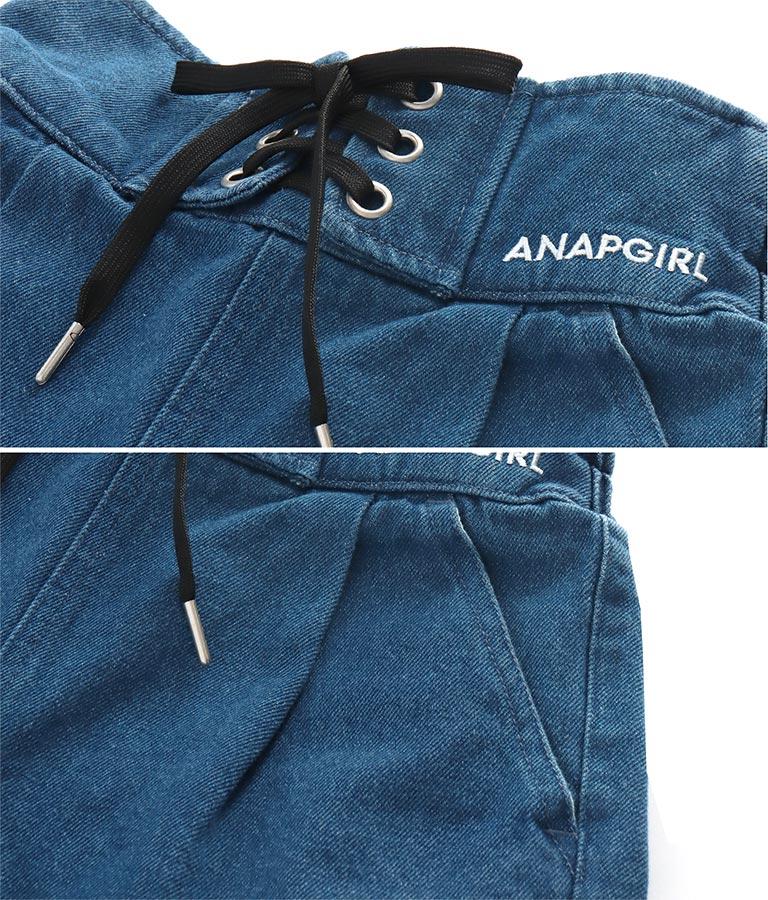 ハイウエストレースアップショートパンツ(ボトムス・パンツ /ショートパンツ) | ANAP GiRL