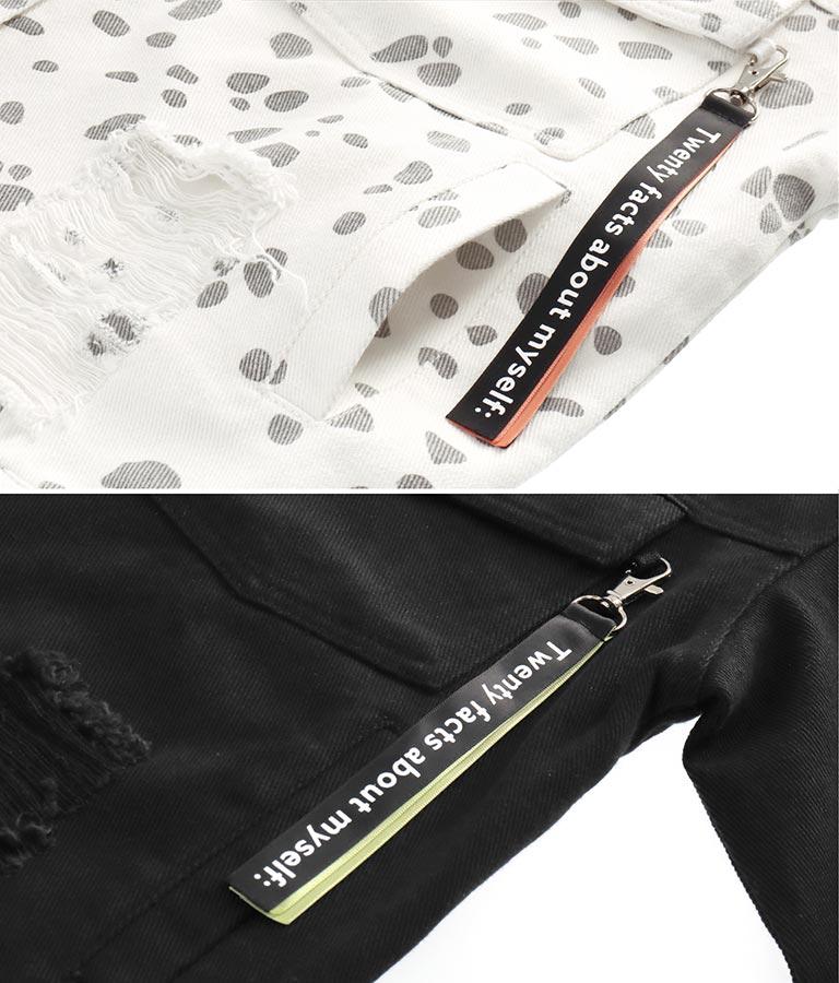 2パターンビッグデニムジャケット(アウター(コート・ジャケット) /ジャケット・ブルゾン) | ANAP GiRL