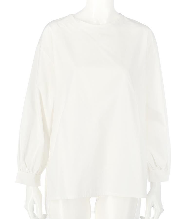 ボリュームスリーブブラウス+サロペセット(ワンピース・ドレス/シャツ・ブラウス・サロペット/オールインワン) | Alluge
