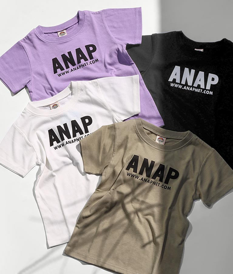 吸水速乾アドレスロゴTシャツ