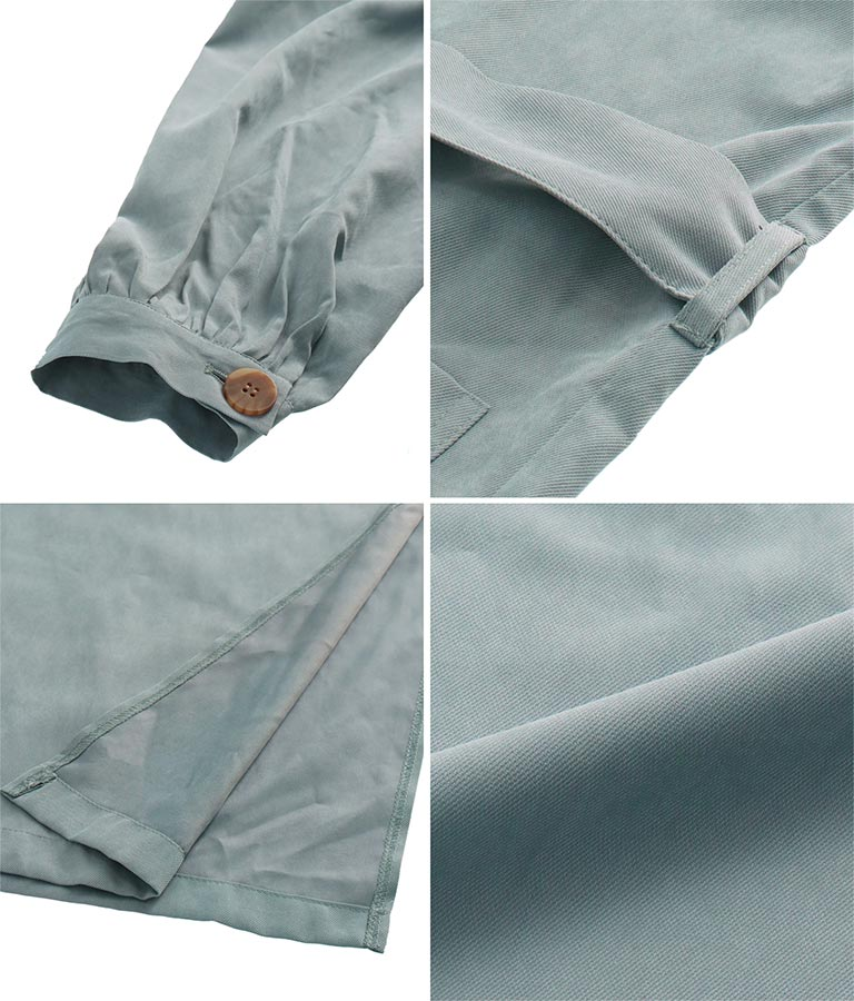 サイドスリットコート(アウター(コート・ジャケット) /コート (トレンチコート・ロングコート) ) | Alluge