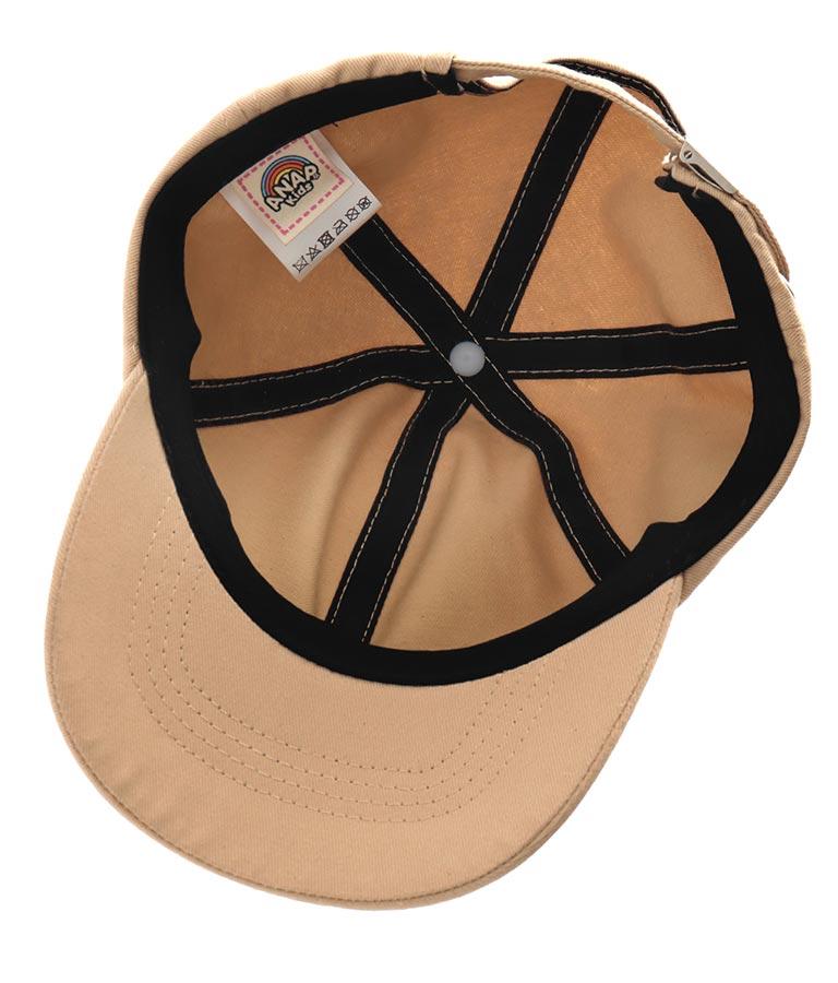 ラインロゴ刺繍キャップ(ファッション雑貨/ハット・キャップ・ニット帽 ・キャスケット・ベレー帽)   ANAP KIDS