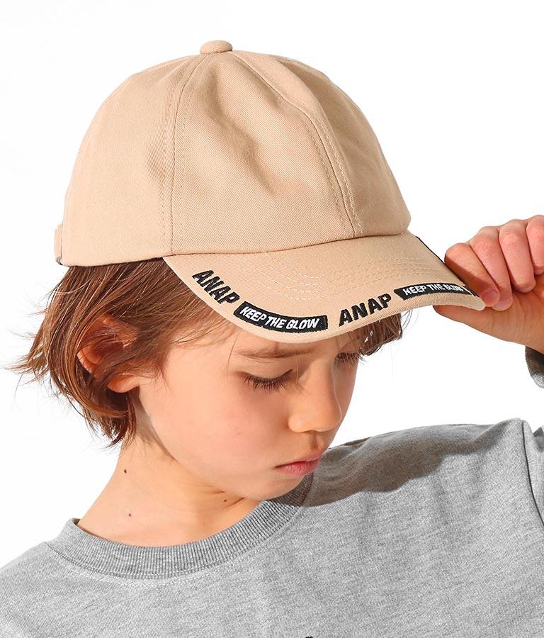 ラインロゴ刺繍キャップ(ファッション雑貨/ハット・キャップ・ニット帽 ・キャスケット・ベレー帽) | ANAP KIDS