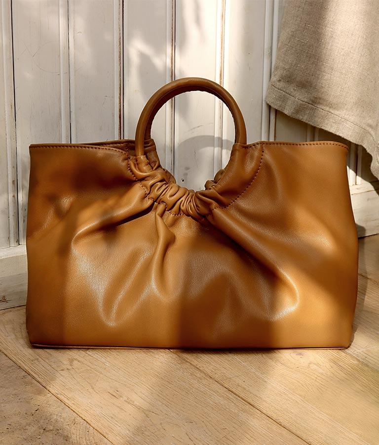 リングハンドルバッグ